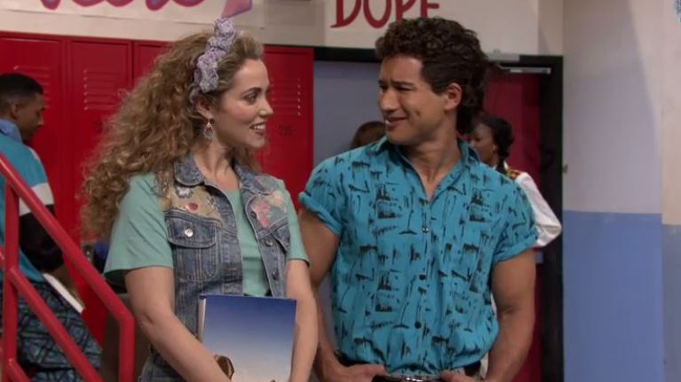 saved by the bell cast pics