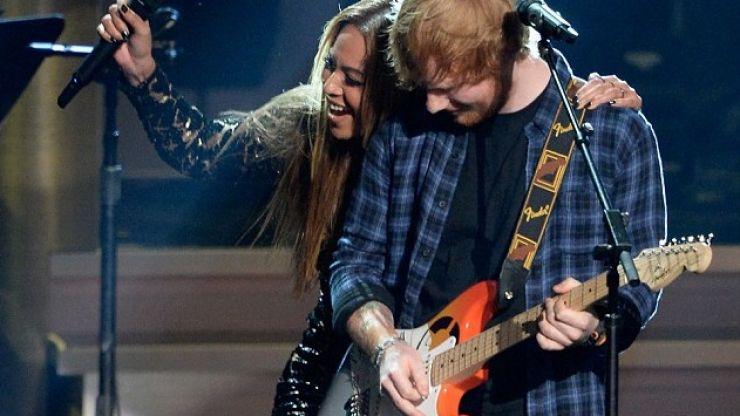 VIDEO: Ed Sheeran Sang With Beyoncé Last Night At A Stevie Wonder Tribute Show