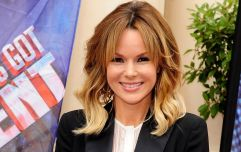 Amanda Holden just wore a €39 check mini dress from Zara, and it's autumn goals