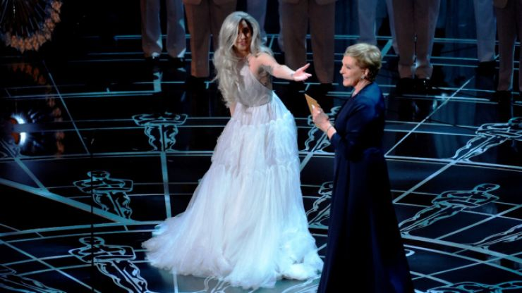 WATCH: Lady Gaga's Flawless Tribute To Julie Andrew And The Sound Of Music