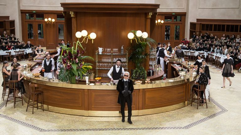 In Pictures: A Chanel Café at Paris Fashion Week