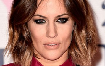 Caroline Flack shows off dramatic new hair and she is working it