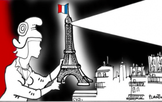 Cartoonists Create Illustrations In Response To Paris Attacks