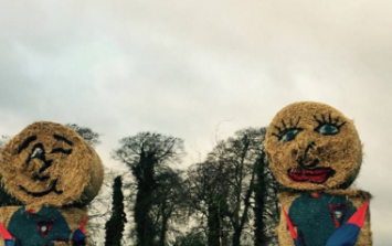 PICTURE: One Irish Family Has A Unique (And Very Irish) Way Of Supporting Their Daughter