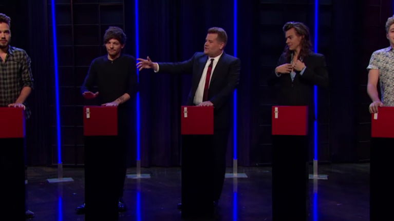One Direction Play Tattoo Roulette With James Corden Herie