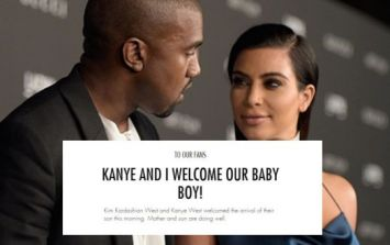 The Kardashian Empire Has Expanded - Kim And Kanye's Little Boy Is Here