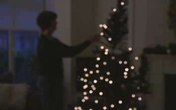 Here's the correct way to put fairy lights on your Christmas tree