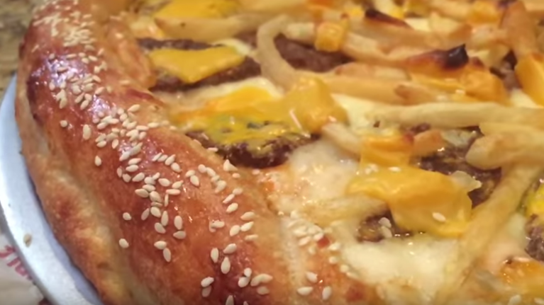 The Big Mac pizza is here and it should probably be illegal