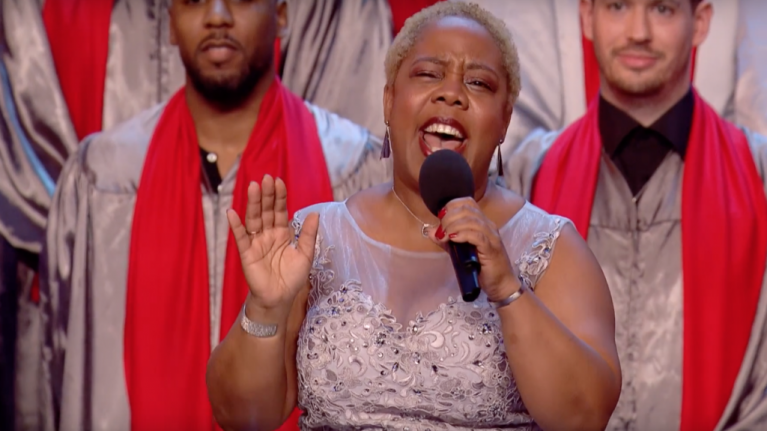 WATCH: Insanely talented Gospel choir receive the golden buzzer on
