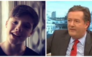 """Shameless"" - Piers Morgan calls Beckhams out for sharing son Cruz's singing videos"