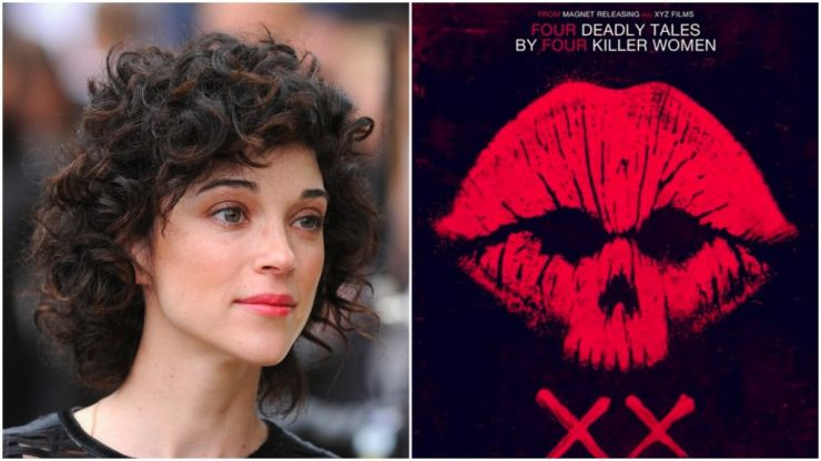 St. Vincent is to direct a short horror film