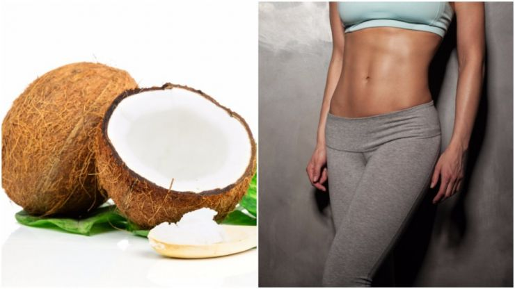 Why coconut oil is a secret weapon to getting a six pack