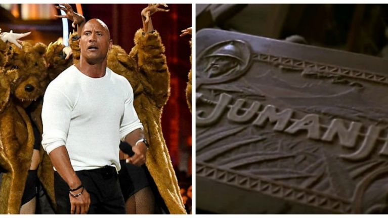 the rock confirms what we all wanted to hear about the new jumanji