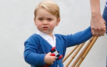 Prince George has just made his first official UK engagement