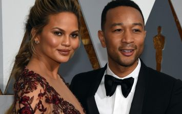 Pics - Chrissy Teigen's baby Luna has appeared on her Snapchat