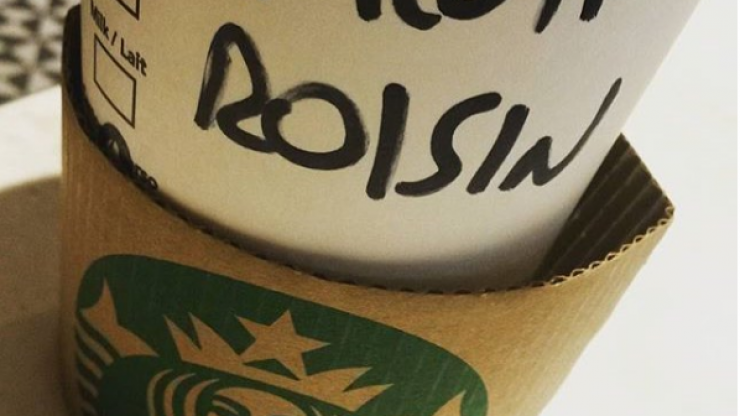 This is the funniest Starbucks name fail we've seen in a while