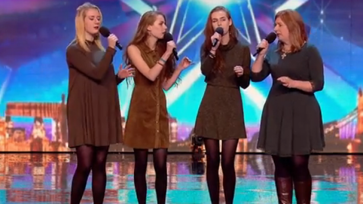 Watch out for this mother daughter singing group on tonight's Britain's Got Talent