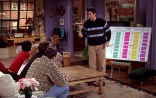 Can you beat Ross's quiz in Friends?