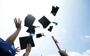 A British university has banned hat-throwing at graduation ceremonies