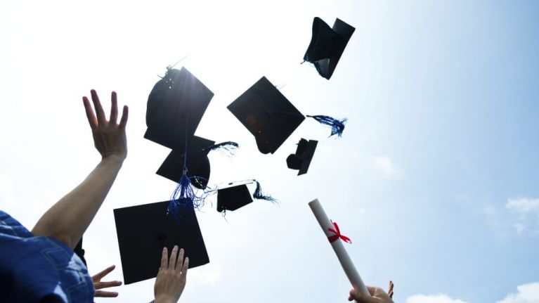 Image result for throwing graduation cap