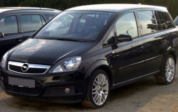Opel issue a second recall of over 8,000 Zafira B Cars