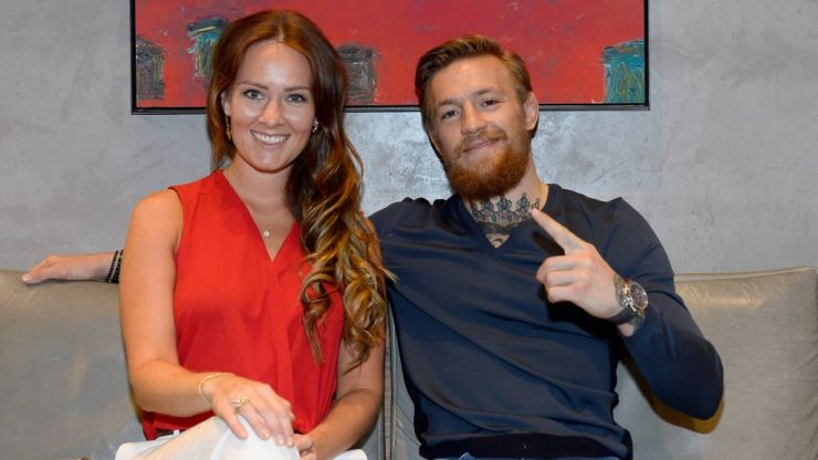 Conor McGregor announces baby news after historic win