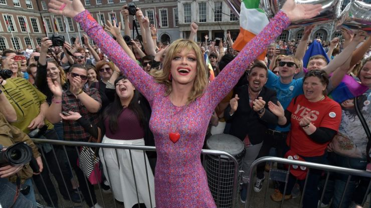 There's only one county in Ireland that hasn't registered any same-sex marriages