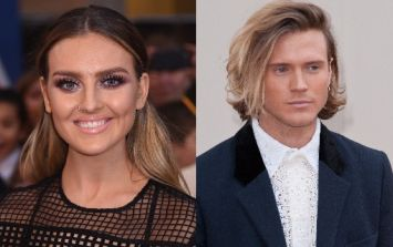 Perrie Edwards and Dougie Poynter are rumoured to be 'getting close'