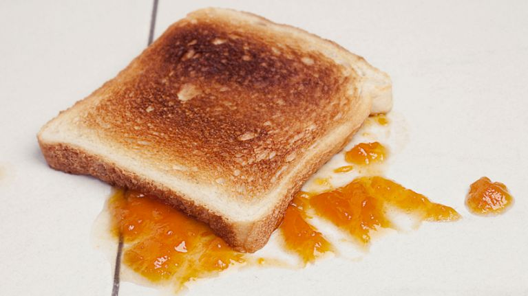 Ever stuck by the 5-second rule? Turns out it's real bad for you