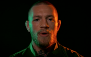 Conor McGregor psychs up the Irish team with this incredible message