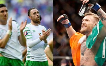 Conor McGregor sums up just what everyone's thinking about Ireland's defeat