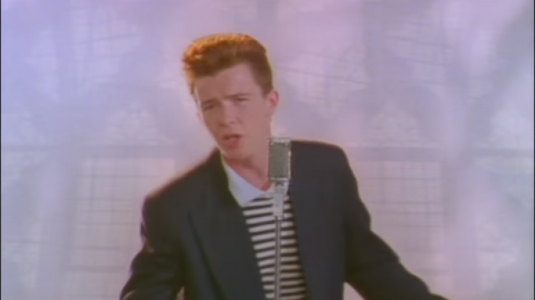 rick astley never gonna give you up video youtube - 767×431