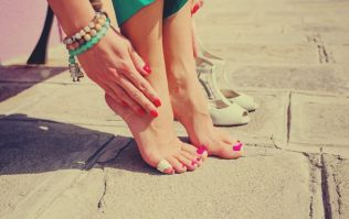 Hurrah! There's a spray that claims to prevent blisters when wearing high heels