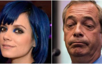 Lily Allen says what we're all thinking at a dinner party with Nigel Farage and Rupert Murdoch
