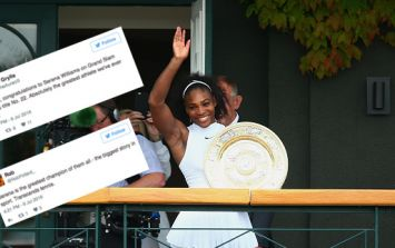 Serena Williams wins Wimbledon and Twitter can't get enough