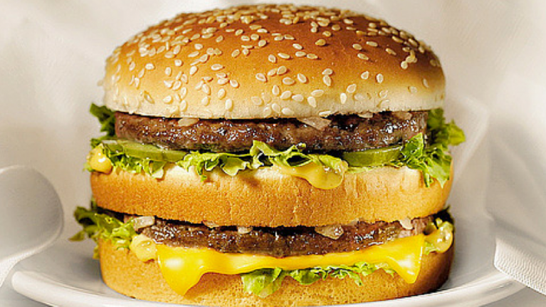 Can you guess the McDonald's burger just by looking at it?