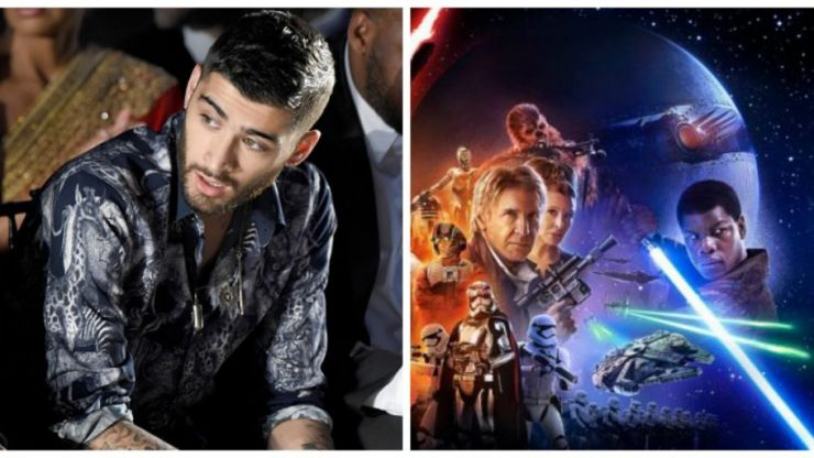 Zayn Malik's new 'Star Wars' tattoo is actually surprisingly cool