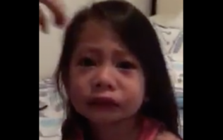 This little girls horrified reaction to her sisters period is heart-warmingly cute