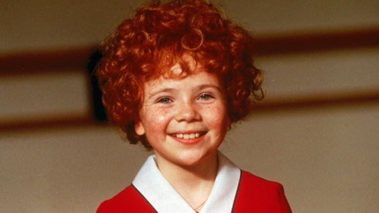 The orphan Annie from the hit film looks a lot different now