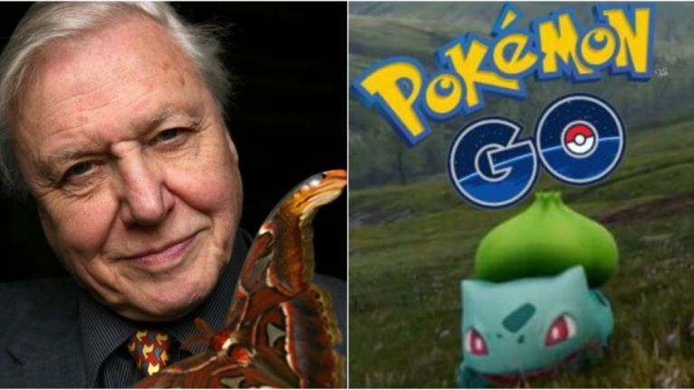 David Attenborough narrating Pokemon GO is absolutely marvellous