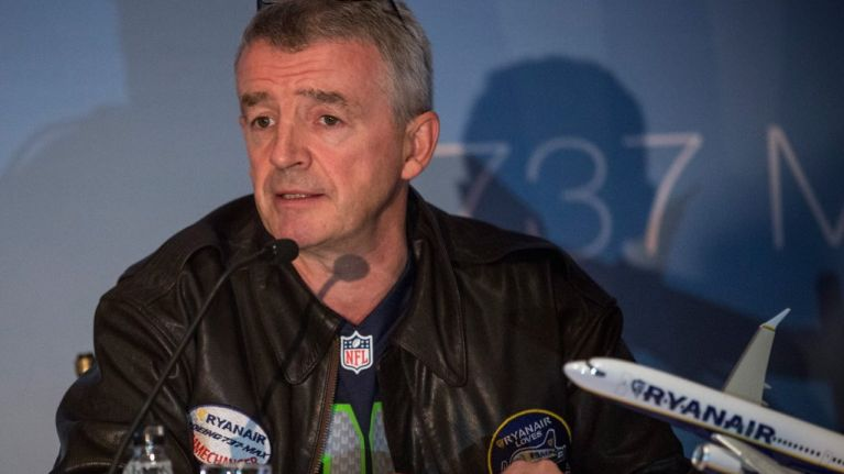 """Michael O'Leary thinks that the Irish Government should tell the EU to """"f**k off"""""""