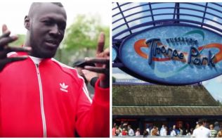 Stormzy had the best birthday party in the world at Thorpe Park