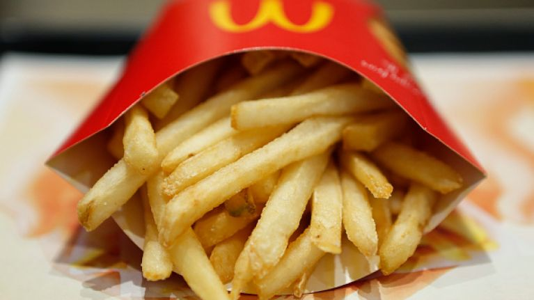 PSA: McDonald's are giving out FREE fries for the rest of 2018