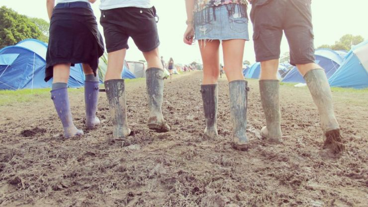 Things you put up with at a festival- that in RL are unacceptable
