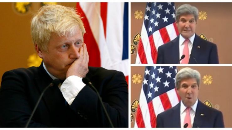 Watch and cringe as Boris Johnson get taken down by a pushy American journalist