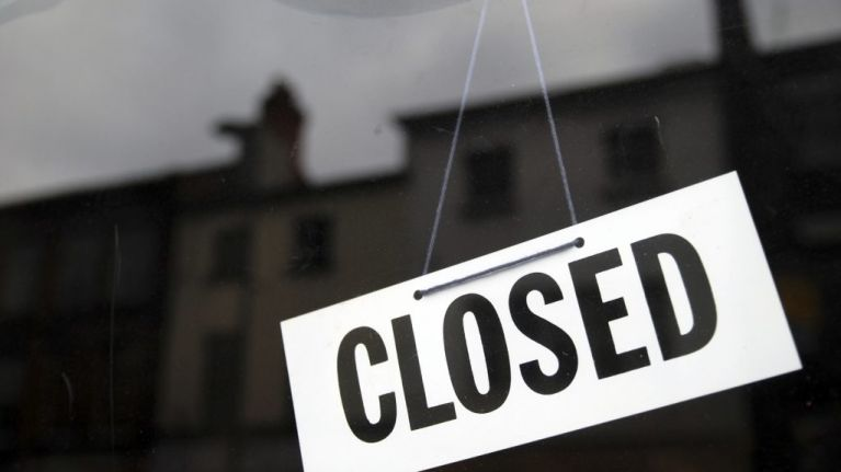 Twelve Irish food businesses forced to close last month