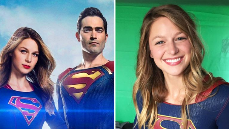 Everyone's worried that Superman is doing something quite rude to Supergirl in new poster