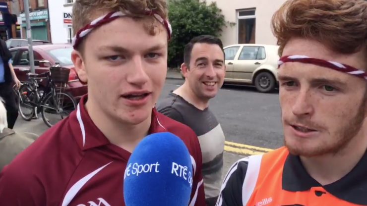 The most Galway fellas ever just gave RTE an absolutely hilarious interview about hurling