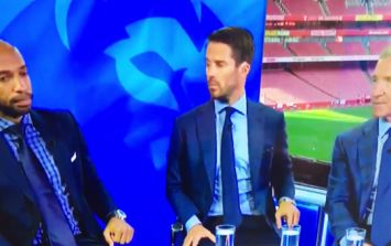 Cringeworthy clip proves Thierry Henry has lost all his 'Va Va Voom' cool