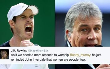 Andy Murray put a BBC presenter in his place after women's Olympic tennis gaffe